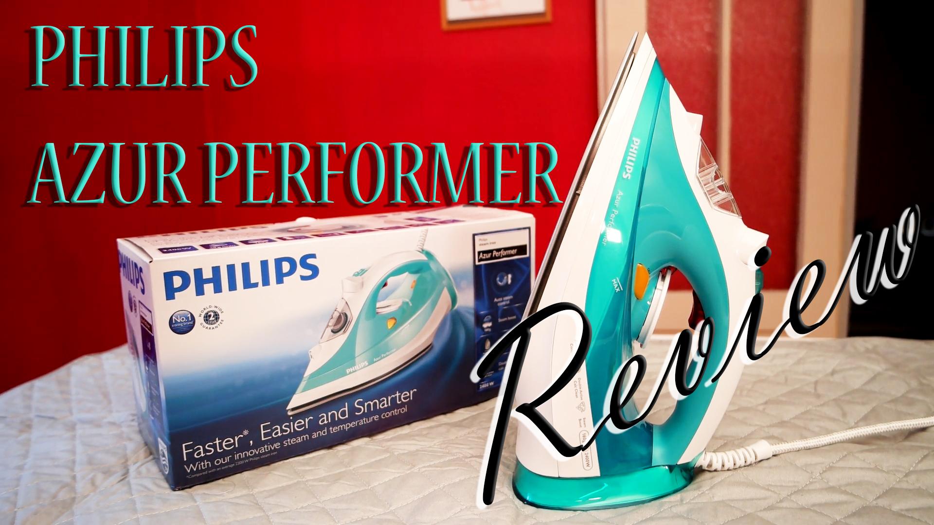 Bügeleisen-Dampfbügeleisen-Philips-Azur-Performer-Test-Testbericht-Produkttest