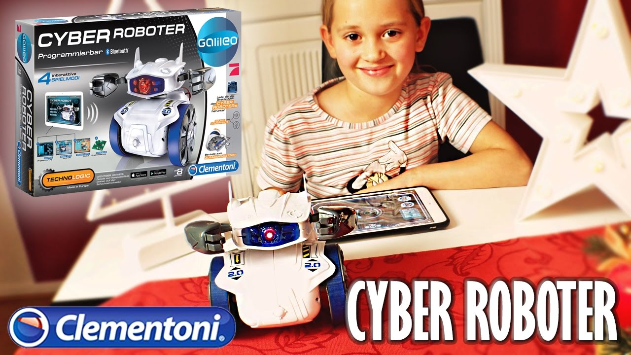 Clementoni CYBER ROBOTER im Test und Unboxing