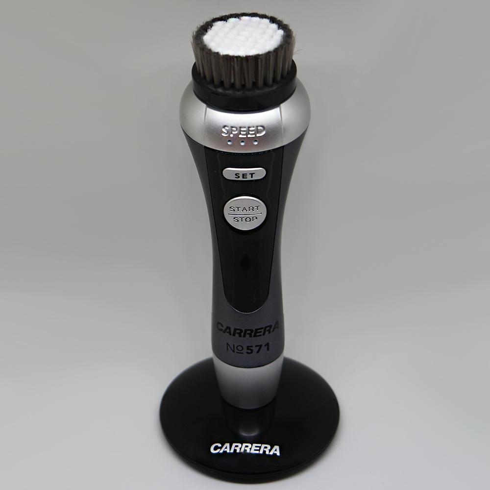 CARRERA elektrische Gesichtsreinigungsbürste No571 mit fünf Aufsätzen