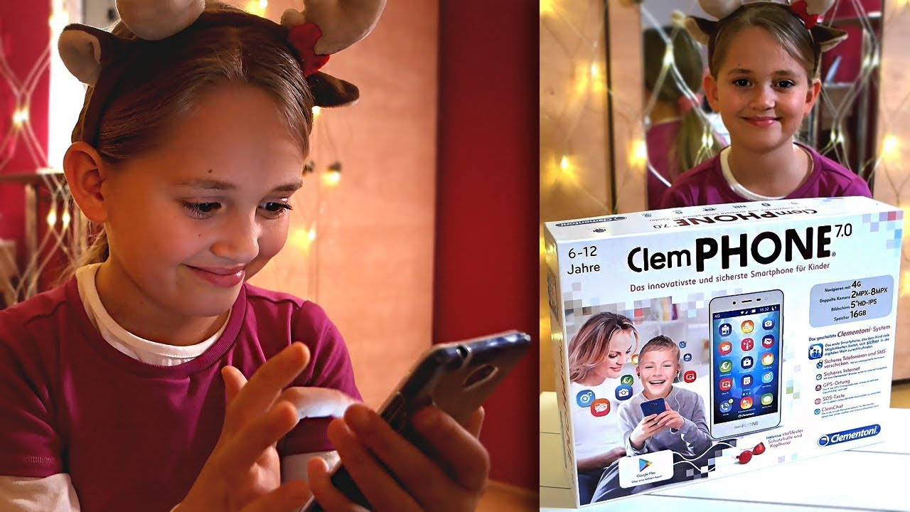 Clementoni Clemphone – 5 Zoll Smartphone für Kinder | Unboxing & Tutorial | Xscape