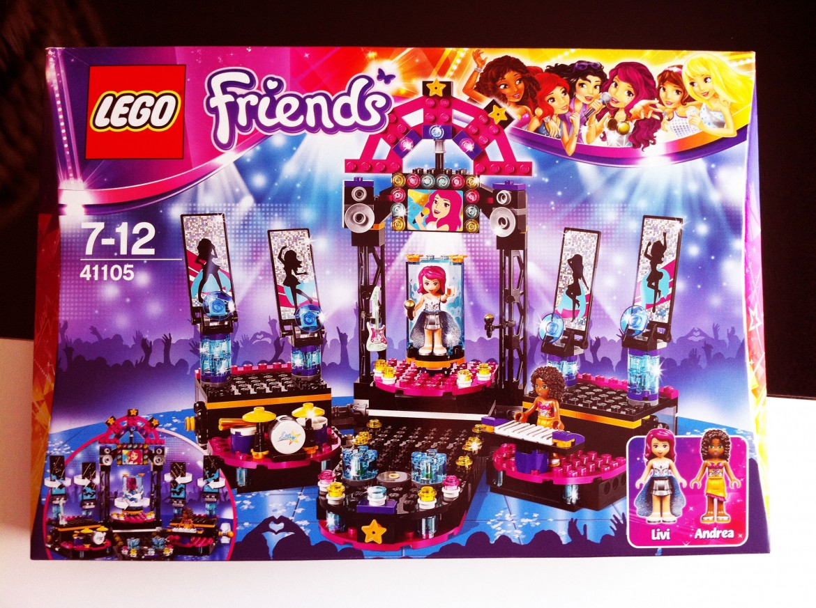 LEGO Friends Popstar Showbühne (Show Stage) 41105