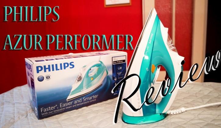 Philips Azur Performer Dampfbügeleisen Testbericht