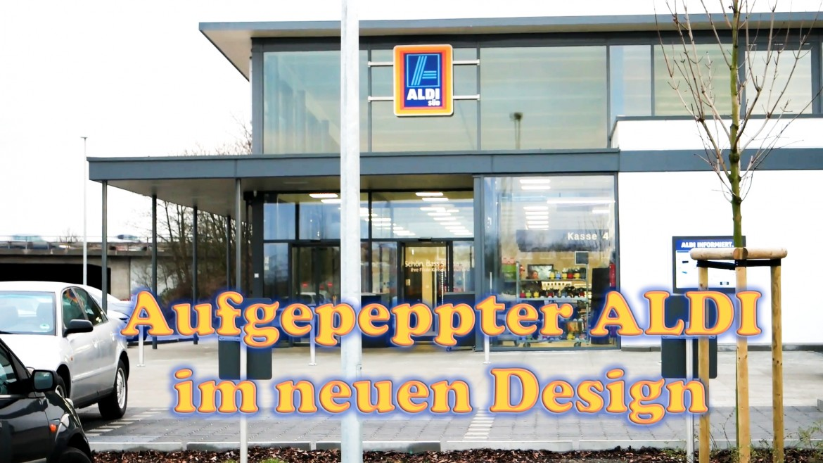 Vlog #002 | Follow me around | ALDI Discounter im neuen modernen Design