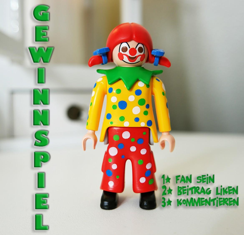 Playmobil Clown-Figur Gewinnspiel