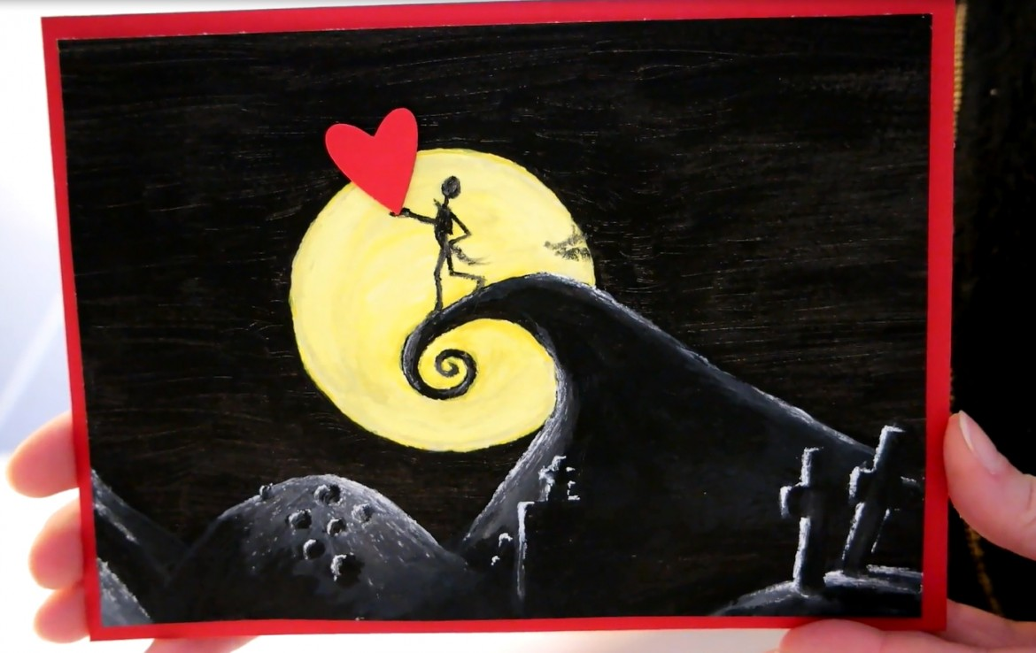 #TheDailyMarker30Day – TAG 2 – Tim Burton's Nightmare Before Christmas Valentinstag