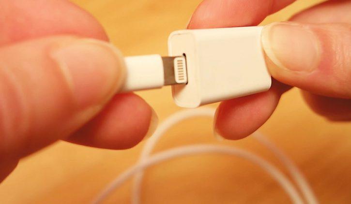 OKCS Lightning-Verlängerungskabel mit Port und Stecker für Apple Geräte