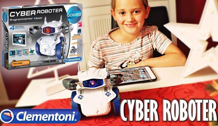 Clementoni CYBER ROBOTER im Test und Unboxing