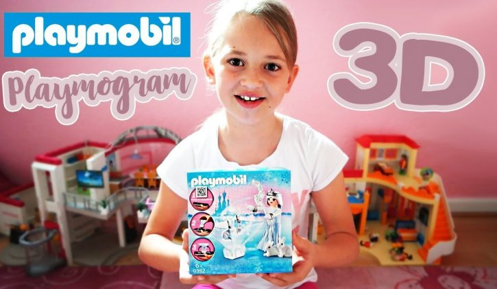 Playmobil Playmogram 3D Unboxing mit Anleitung | Playmobil 9352 Prinzessin Sternenglitzer
