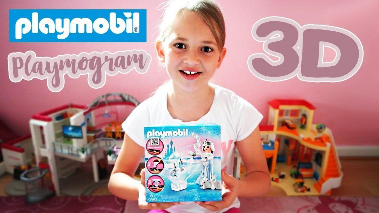 Playmobil Playmogram 3D Unboxing mit Anleitung | Playmobil 9352 Prinzessin Sternenglitzer