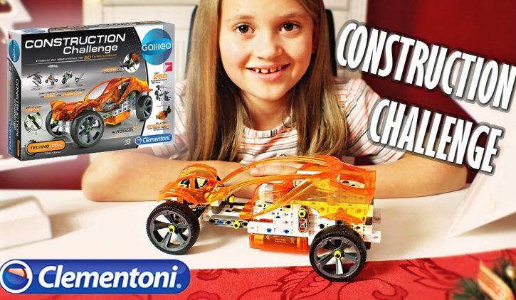 Clementoni CONSTRUCTION CHALLENGE im Test und Unboxing