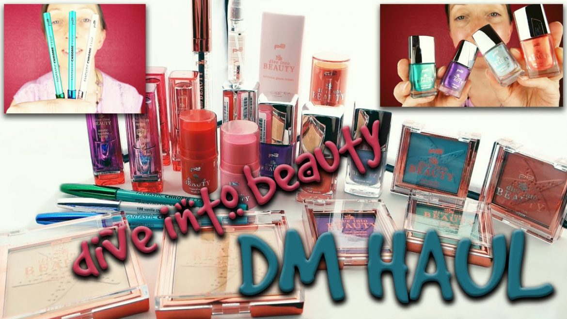 dm Haul | p2 | DIVE INTO BEAUTY Limited Edition Make-Up + GEWINNSPIEL