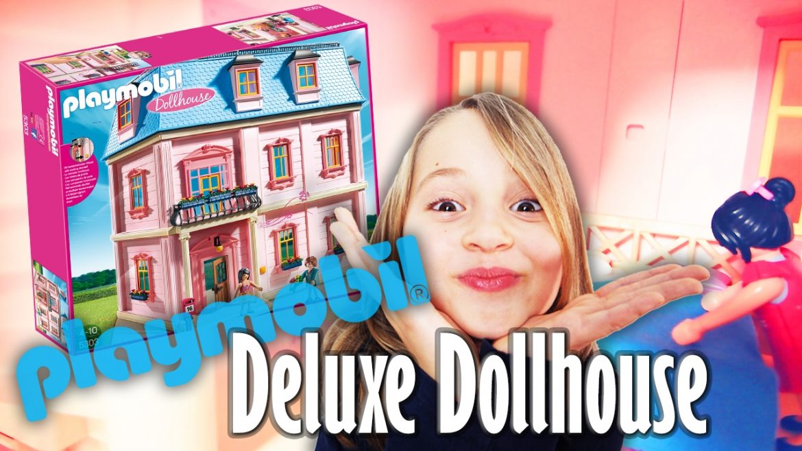 Playmobil ROMANTISCHES PUPPENHAUS 5303 Unboxing & Speed Build DOLLHOUSE