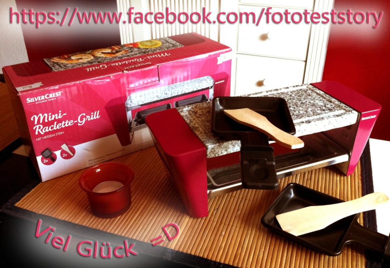 Gewinnspiel: Mini Raclette Grill (Sponsoring)