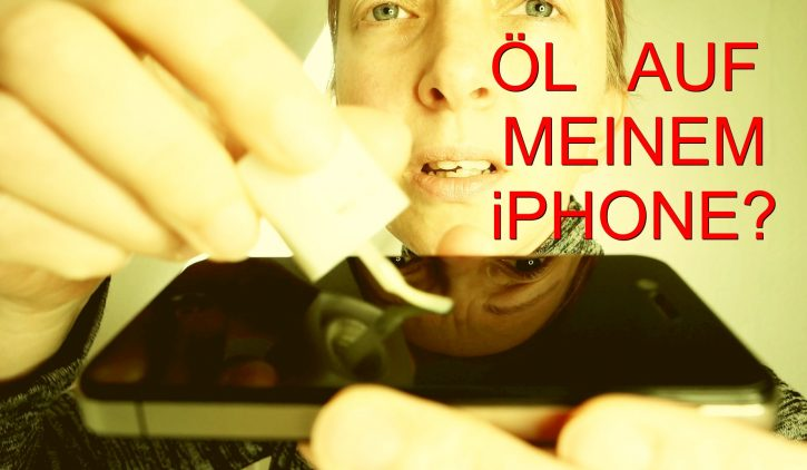 SmarTect® iPhone 4/4s Premium Panzerglas Schutzfolie mit Blickschutz
